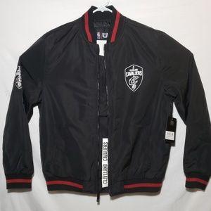 Cleveland Cavaliers NBA U Black Jacket Men's Sz L